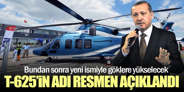 Erdoğan T-625'in adını resmen açıkladı