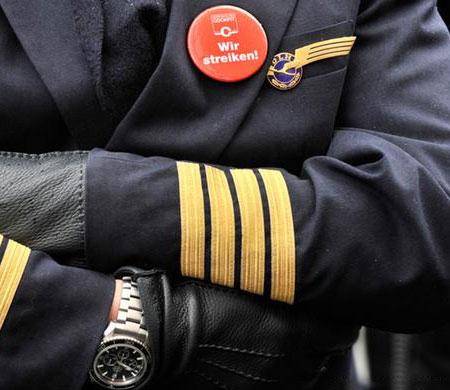 Lufthansa'da grev ikinci gününde