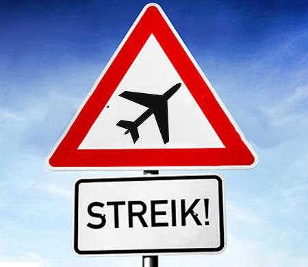 Almanya'da yine grev! Birçok uçuş iptal edildi