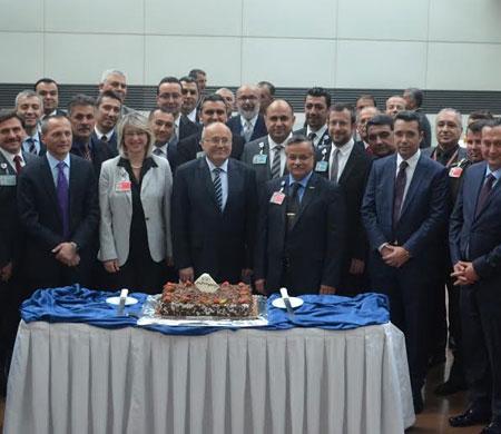 Balcıoğlu Esenboğa Havalimanı'na veda etti