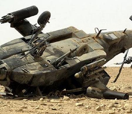 BAE helikopteri Yemen'de düştü!