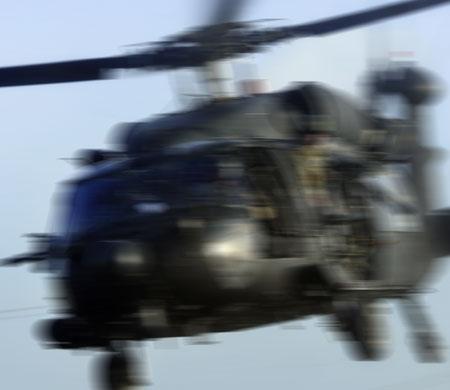 ABD'de helikopter kazası!