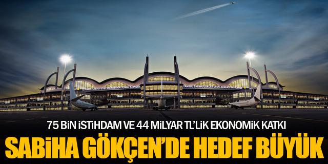 """Sabiha Gökçen Havalimanı'nda hedef: """"75 bin istihdam"""""""