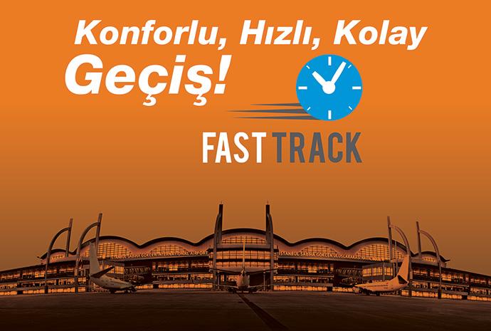 """647e470b7c3d2 Fast Track hizmetini hayata geçirerek, yolcularımızı konfor, hız ve kolay  geçişle buluşturmayı hedefliyoruz"""" dedi."""