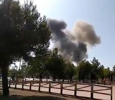 İspanya'da uçak düştü