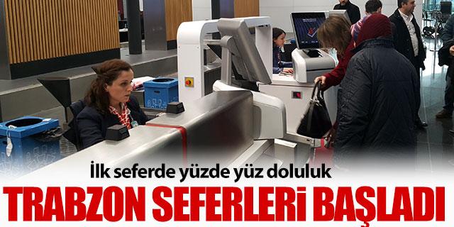 İstanbul Havalimanı-Trabzon seferleri başladı