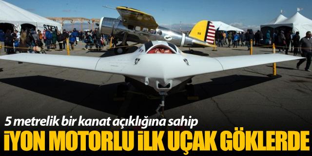 İyon motorlu ilk uçak göklerde!