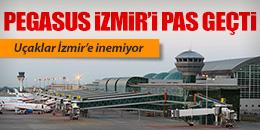 UÇAKLAR İZMİR'E İNEMİYOR