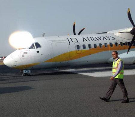 Jet Airways uçağı korkuttu