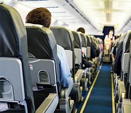 Uçakta şoke eden ölüm!
