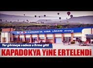 KAPADOKYA HAVALİMANI İHALESİ YİNE İPTAL EDİLDİ!