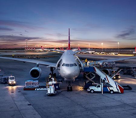Havadaki yükü İstanbul taşıdı