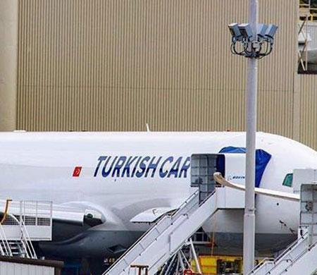 İşte THY'nin ilk Boeing 777 kargo uçağı