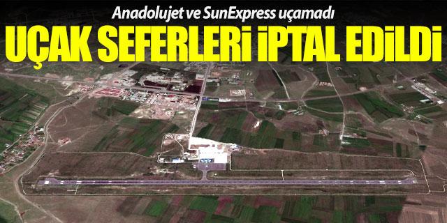 Anadolujet ve Sunexpress seferleri iptal edildi!