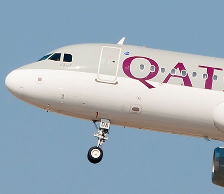 Katar uçağı BA için ilk uçuşunu Brüksel'e yaptı