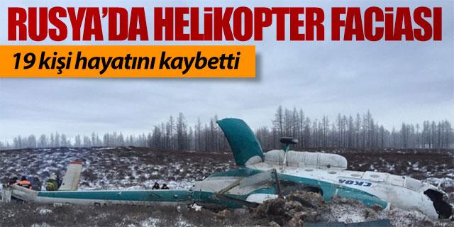 Rusya'da helikopter faciası!