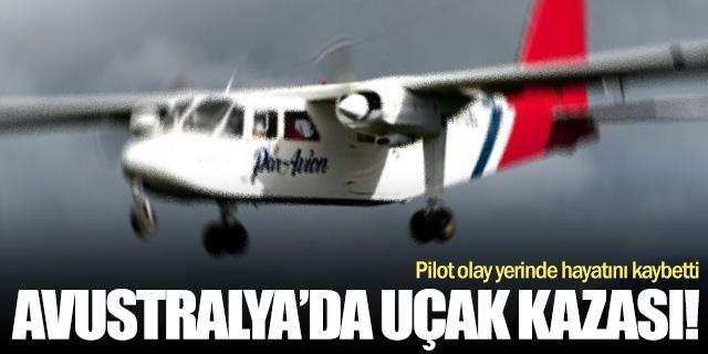 Uçak düştü... Pilot hayatını kaybetti!
