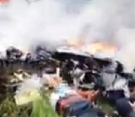 MH17'de şoke eden görüntüler