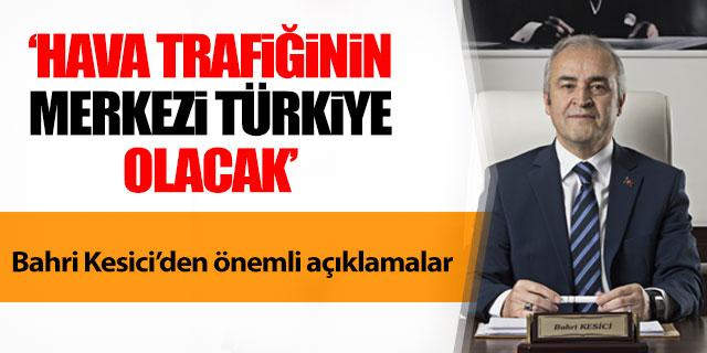 Kesici; 'Merkez Türkiye olacak'