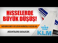 AIR FRANCE- KLM HİSSELERİ ERİYOR