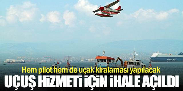 Belediye uçuş hizmeti için ihaleye gidiyor