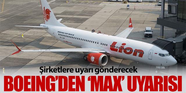 Boeing, Endonezyadaki kaza sonrası 737 Max serisi uçaklar için güvenlik uyarısı yayınlayacak 24