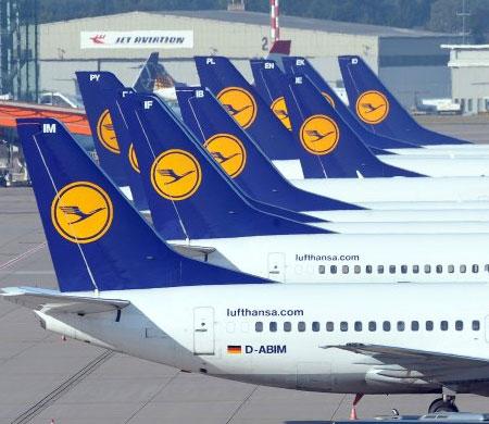Lufthansa'nın geliri azaldı
