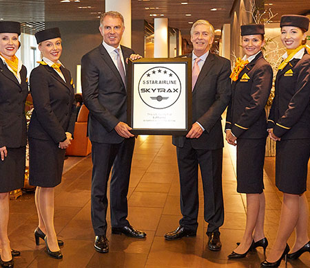 Skytrax'tan Lufthansa'ya