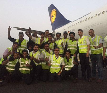 Lufthansa uçağı böyle kurtarıldı