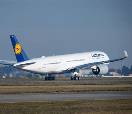 Lufthansa ilk A350 uçağını teslim aldı
