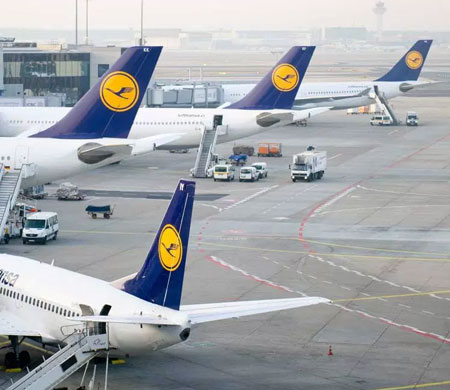 Alman devi Lufthansa'da kriz kapıda