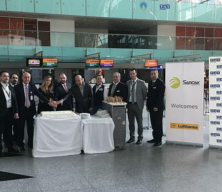 Lufthansa'nın Münih-İzmir seferleri başladı