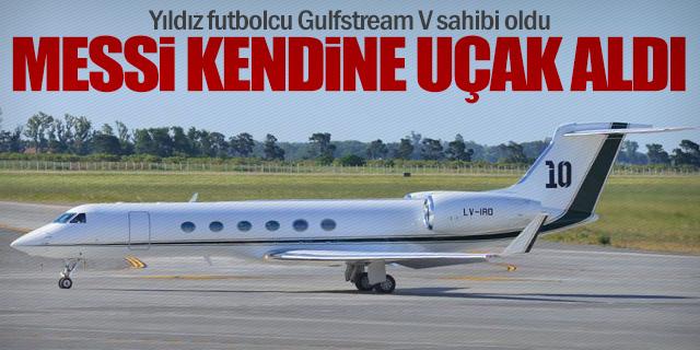 Lionel Messi 'Gulfstream V' sahibi oldu