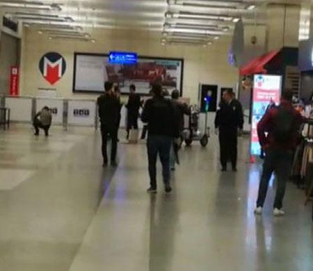 Atatürk Havalimanı metro istasyonunda şüpheli çanta alarmı