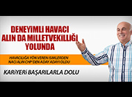 HAVACILIĞIN DUAYENLERİNDEN NACİ ALIN MİLLETVEKİLLİĞİ YOLUNDA...