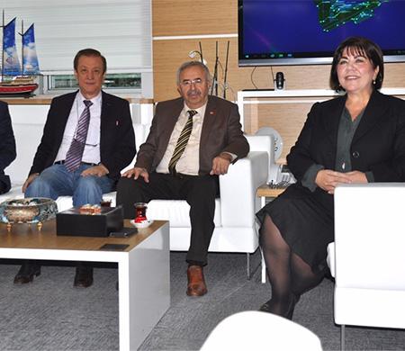 Habib Soluk'tan Funda Ocak'a ziyaret