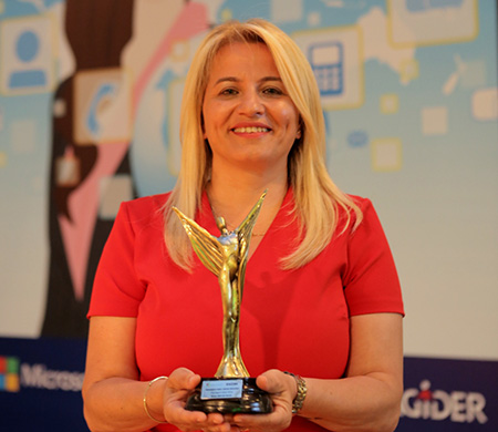 TAV Bilişim Hizmetleri Genel Müdürü'ne en iyi ödülü