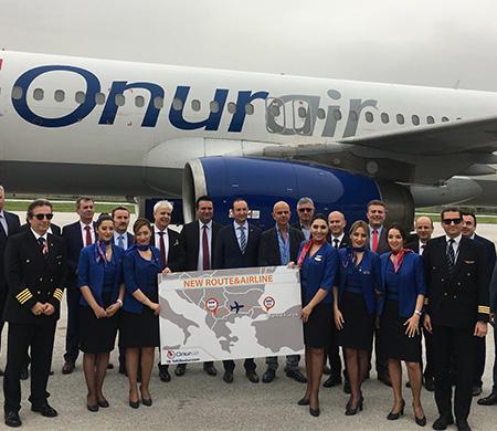 Onur Havayolları Ohrid seferlerine başladı