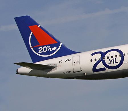 Onur Air'in Brüksel uçağı AHL'ye divert etti