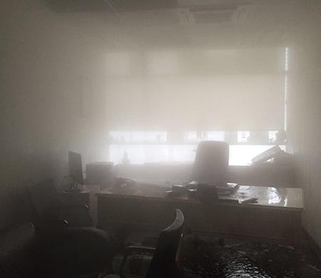 Onur Air ofisi göle döndü