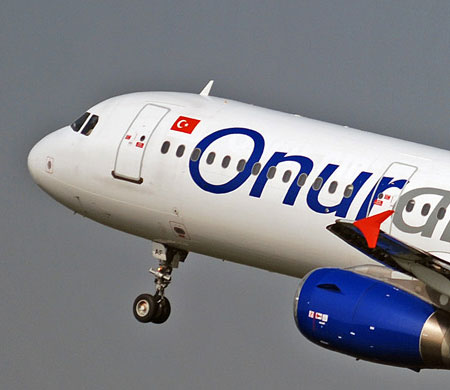 Onur Air'den ortak uçuş anlaşması