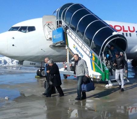 Ordu-Giresun Havalimanı 'kar'da başarılı oldu