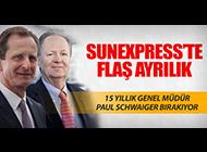 SUNEXPRESS'TE SCHWAIGER GÖREVİ BIRAKIYOR