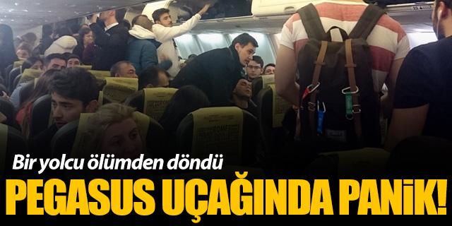Pegasus uçağında kabin basıncı düştü; bir yolcu ölümden döndü