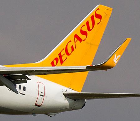 Pegasus dış hat uçuşlarında atağa kalktı