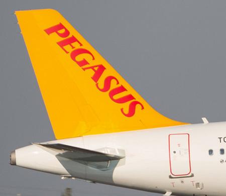 Pegasus uçağında yangın iddiası