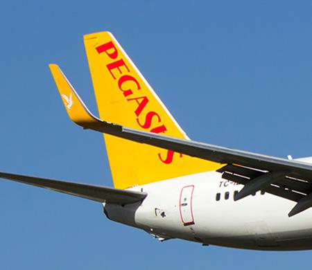 Pegasus uçağı kalkıştan önce arızalandı