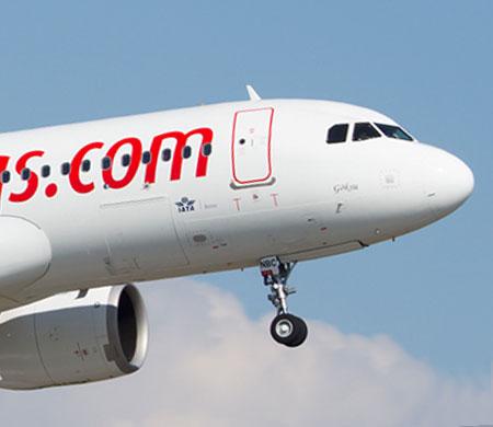 Pegasus uçağı sorunlu yolcu nedeniyle Odessa'ya indi