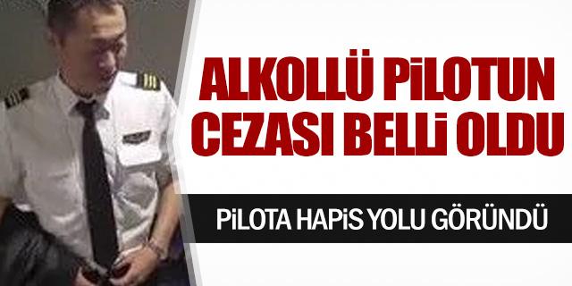 Alkollü pilotun cezası belli oldu