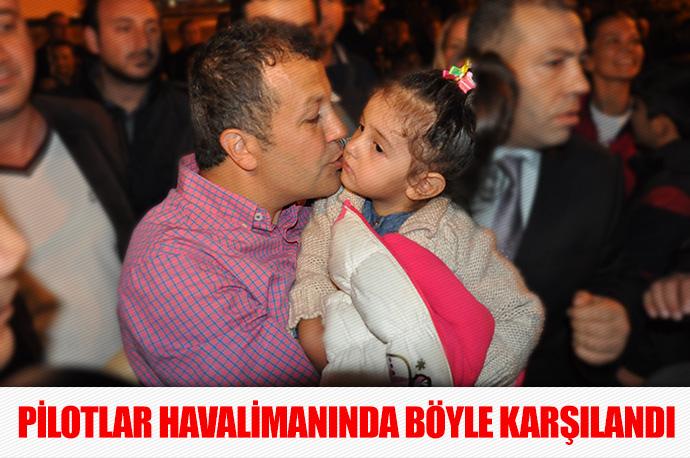 Kaçırılan THY pilotları Murat Akpınar ve Murat Ağca İstanbul'da